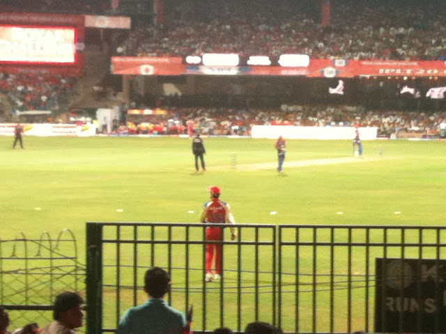 RCB in Chinnaswamy stadium