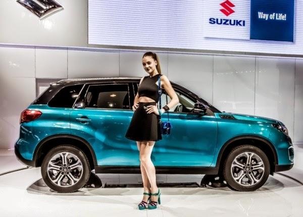 Spesifikasi dan Harga All-New Suzuki Vitara 2015