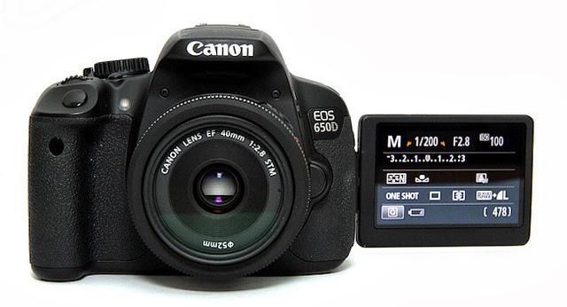 Harga Kamera Canon EOS 650D DSLR Terbaru