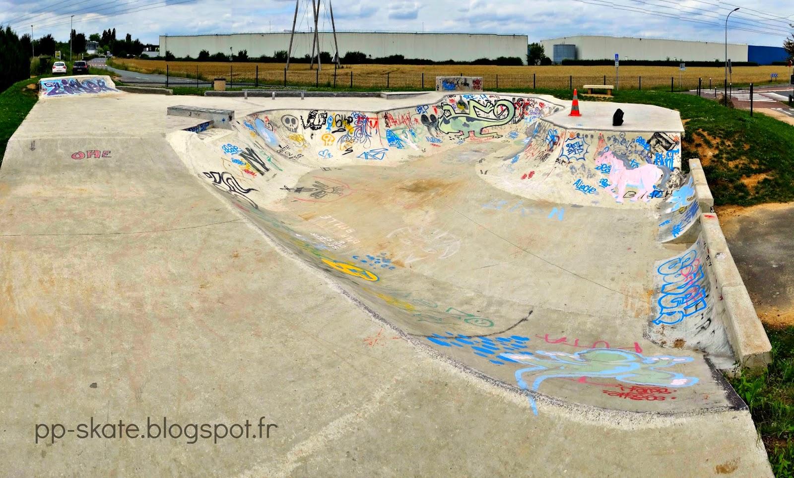Skatepark Le plessis Pate