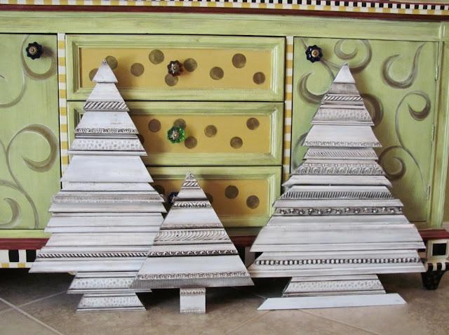 picture frame molding scraps art