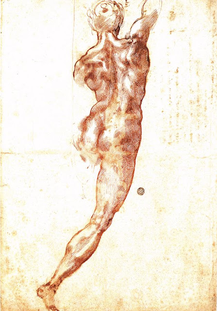 Nude, Study for the Battle of Cascina