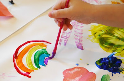 Process Art for Preschoolers and Elementary Kids- Art Buffet