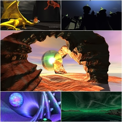 3D HD tema