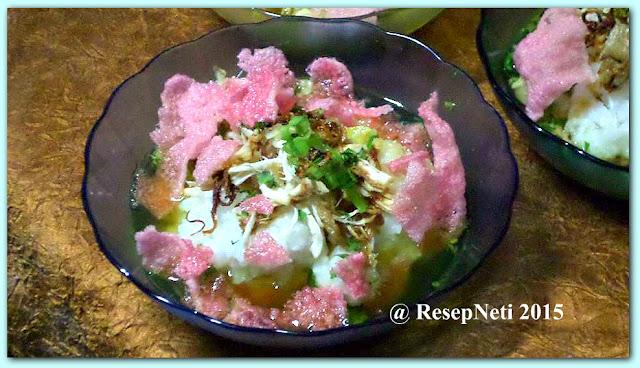 resep bubur ayam sederhana di dapur kusNeti 2015