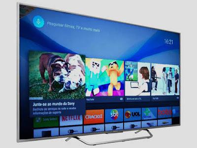 Smart TV Sony 55 polegadas' 4K Ultra HD é a primeira com sistema Android no Brasil