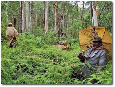 Las esculturas mágicas de Bruno Torfs - Marysville Australia - Jardín de esculturas4