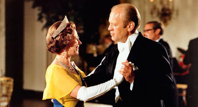 Queen Elizabeth and President Gerald Ford
