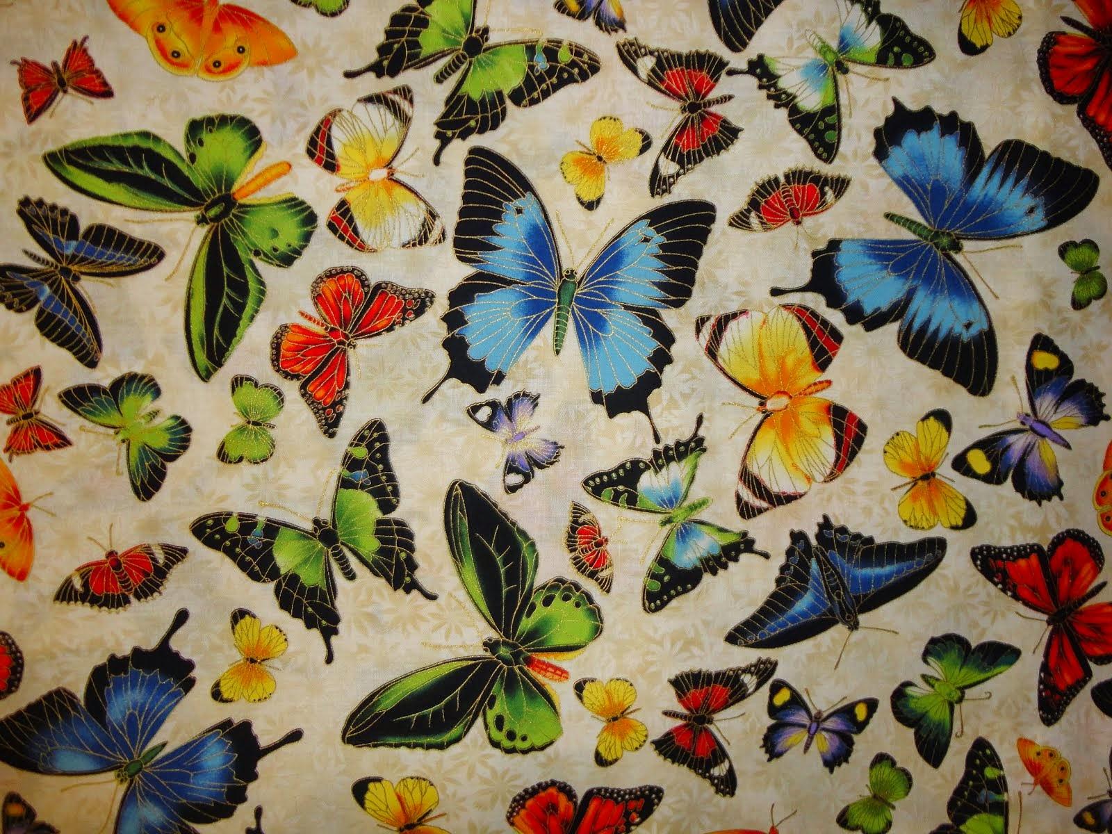 vlinders stof van Robert kaufman