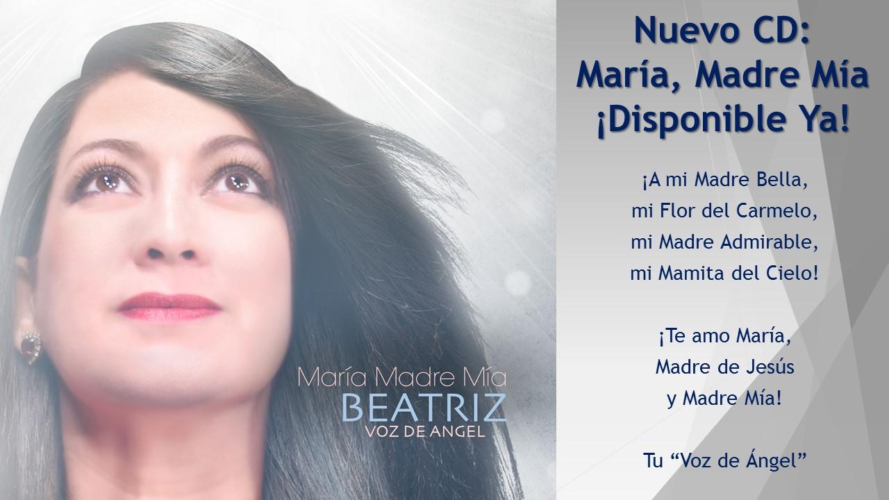 """Beatriz """"Voz de Ángel"""" Cantautora y Predicadora Internacional Católica"""