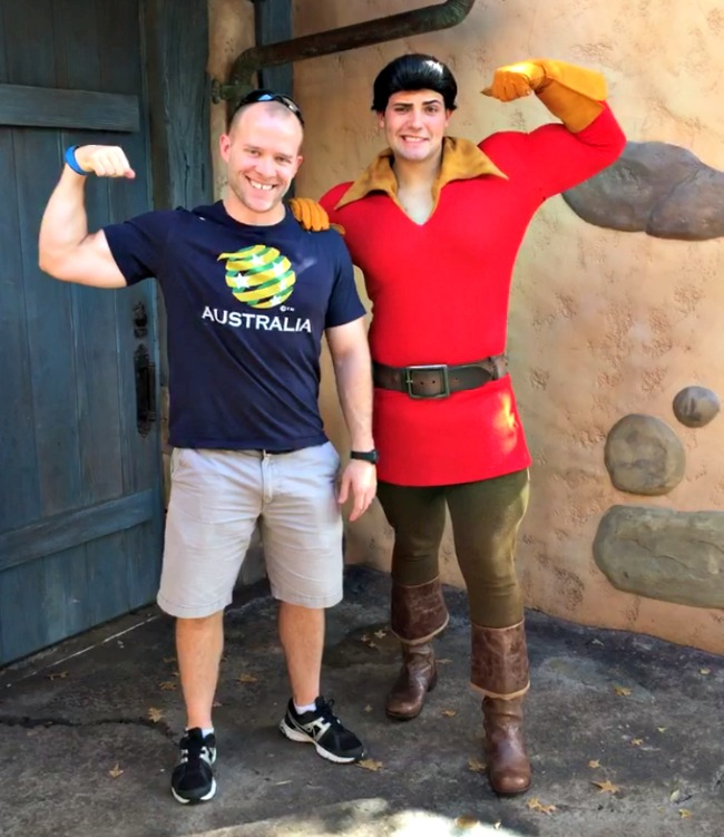 Disney World Recap - Magic Kingdom - KC meets Gaston