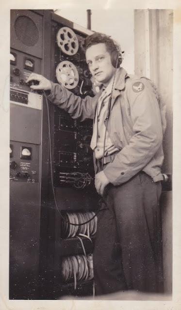 World War II Radio Man