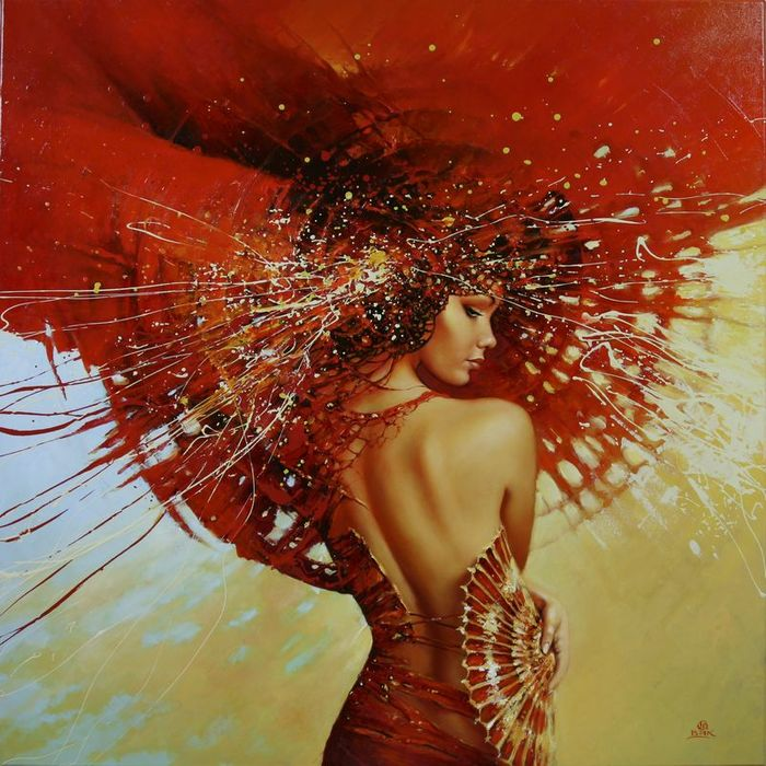Karol Bąk 1961 | Polish Figurative painter