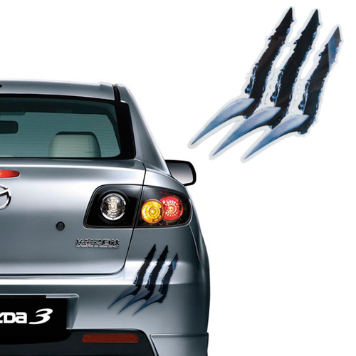 Car Stickers Vivid Monster Car Decal