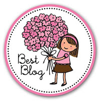 Premio Best Blog concedido por My CuteCakes