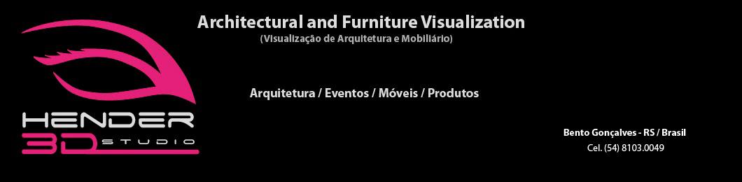 Hender 3D Studio - Visualização para Arquitetura e Mobiliário