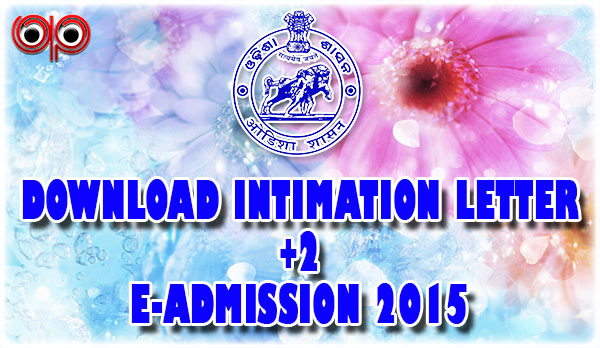 DHE - How To Check Your +2 Admission Status & Download Intimation Letter Free