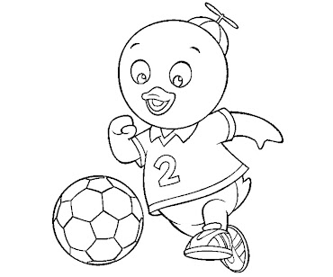 #5 Pablo Coloring Page