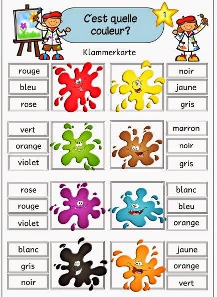 Farben mischen im kindergarten