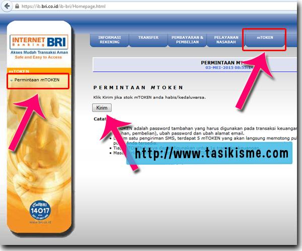 cara bayar bpjs via internet banking bri