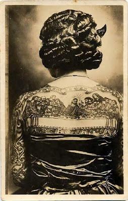 tattoo antiga mulher