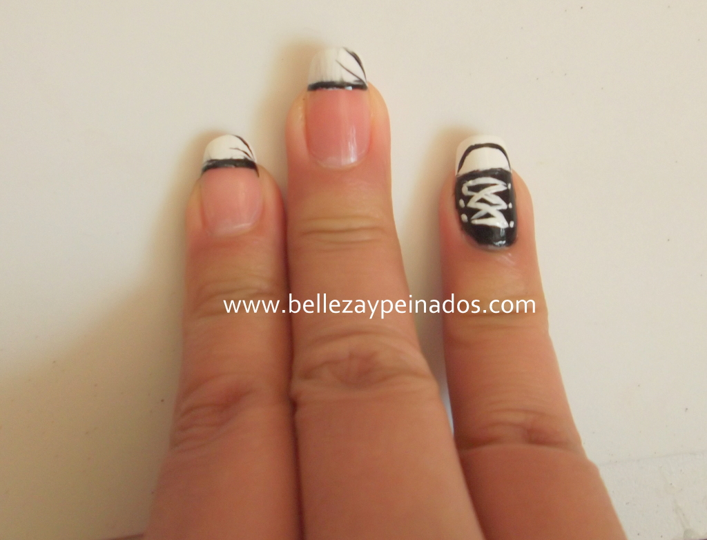Uñas Pinceladas - YouTube