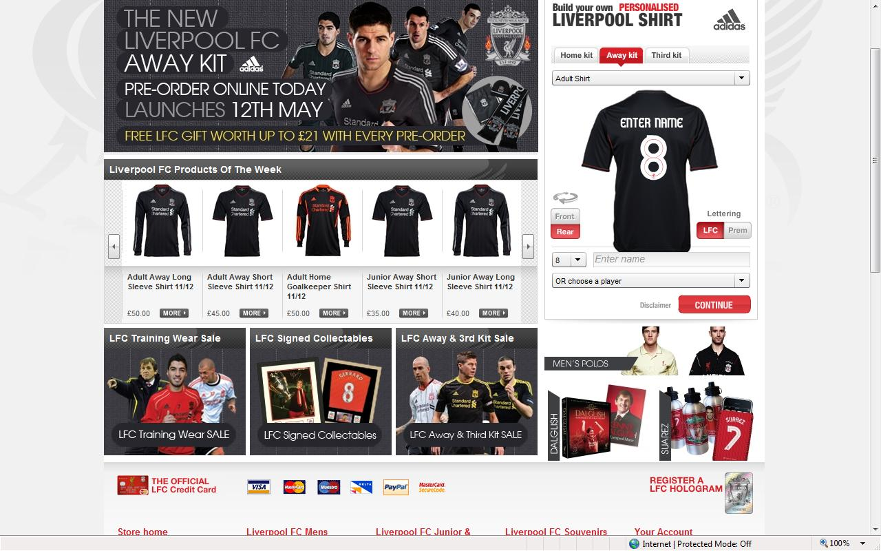 Design your own t shirt liverpool - The Only Complaint I Have About The Whole Thing Is That Its Not More Widely Known Among The Fanbase Or Maybe Just The Ones I Hang Out With