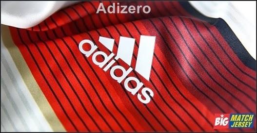 Logo Sablon Adidas Pada Jersey Adizero Fifa World Cup 2014