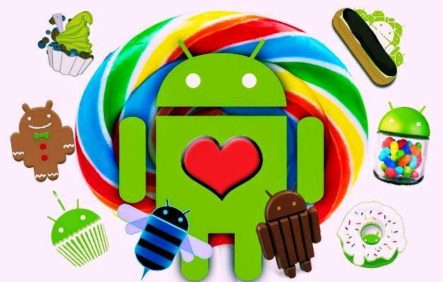 Lịch sử phát triển ngọt ngào của Android