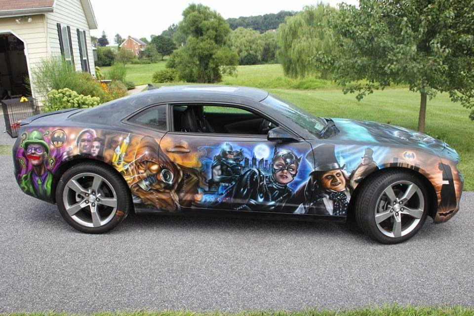 How To Wreck A Car Paint Job