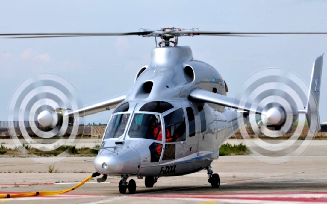 Eurocopter X3 Helicopter Wallpaper 2