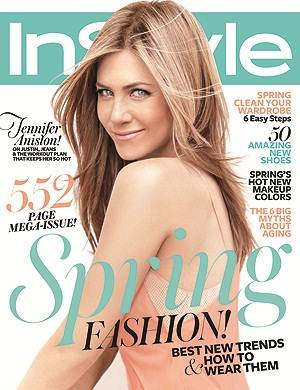Jennifer Aniston InStyle March 2012 Interview