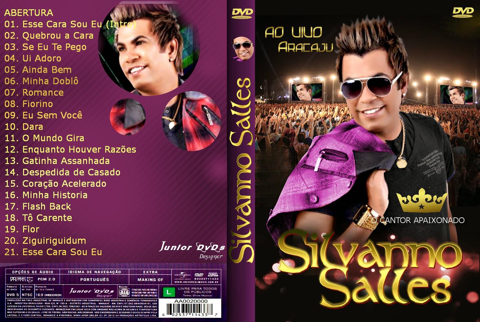 capa Download – Silvanno Salles   O Cantor Apaixonado   Ao Vivo Aracaju – DVDRip AVI + RMVB ( 2014 )