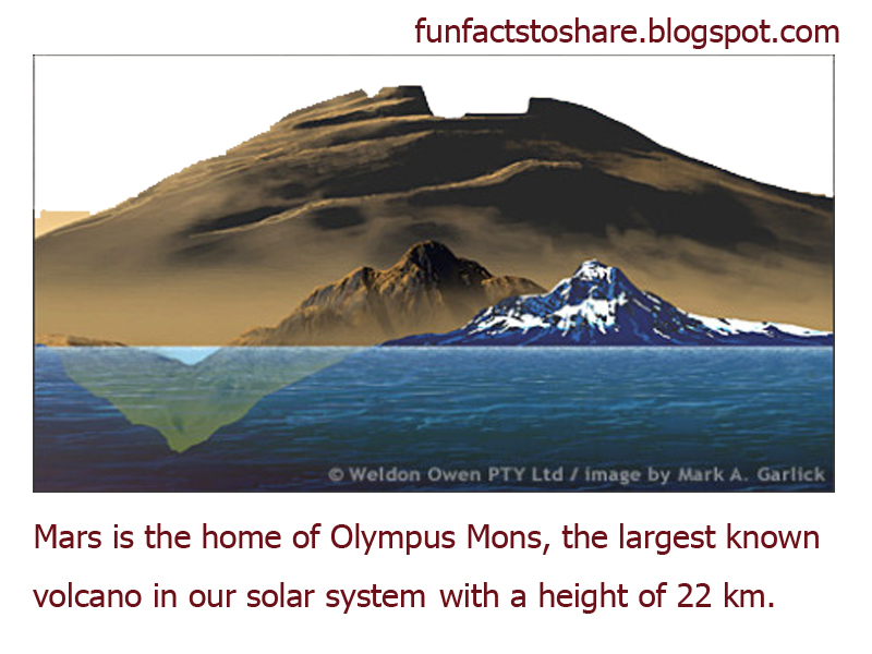 biggest volcano in our solar system - photo #21