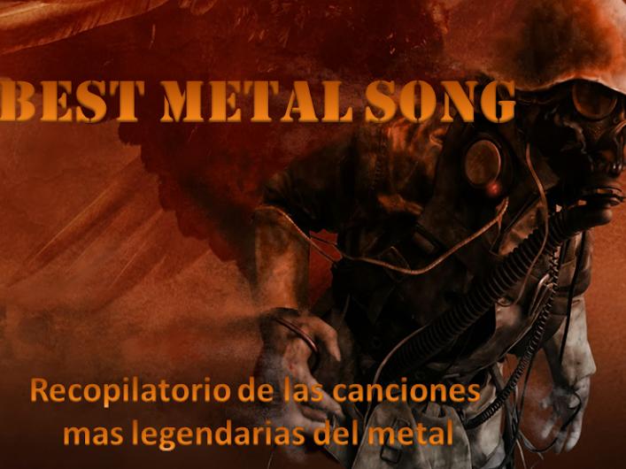 BEST METAL SONG