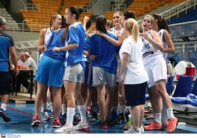 Εθνική Κορασίδων (U16): Ελλάδα-Νορβηγία 44-18
