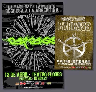 Carcass 2013 / Pack Prensa Completo