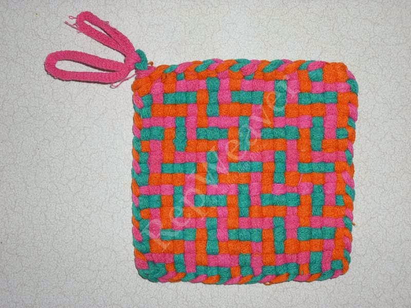 Looper Potholder