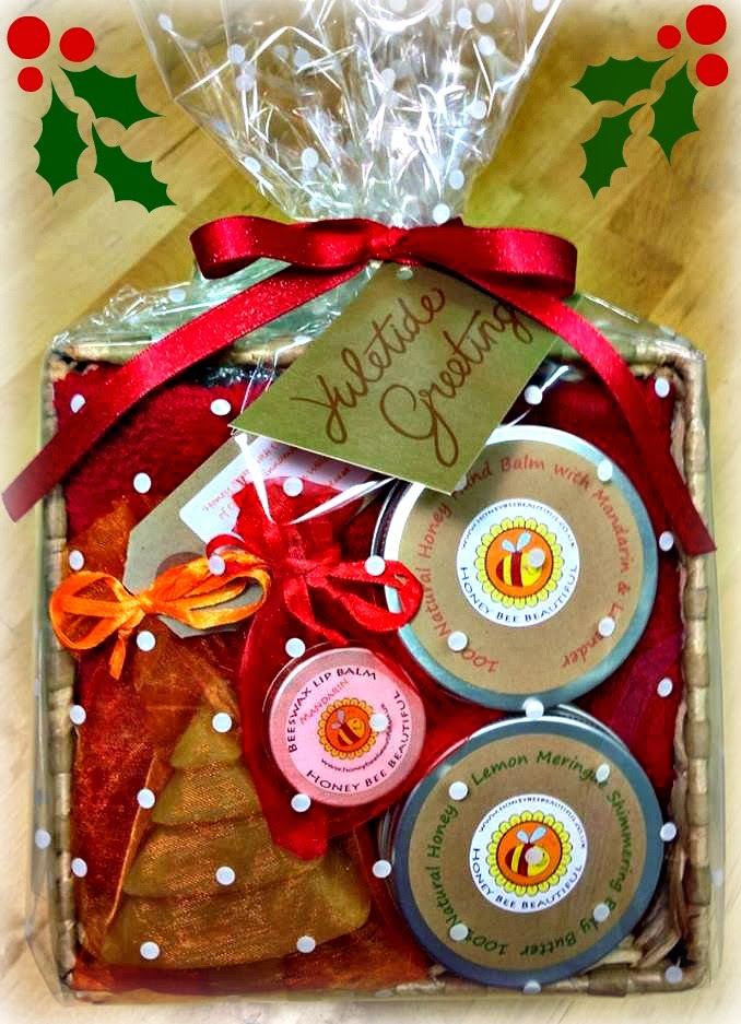 Honey Bee Beautiful Christmas Gift Hamper