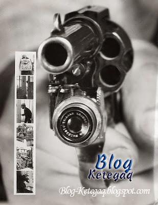 pistol berkamera yang antik