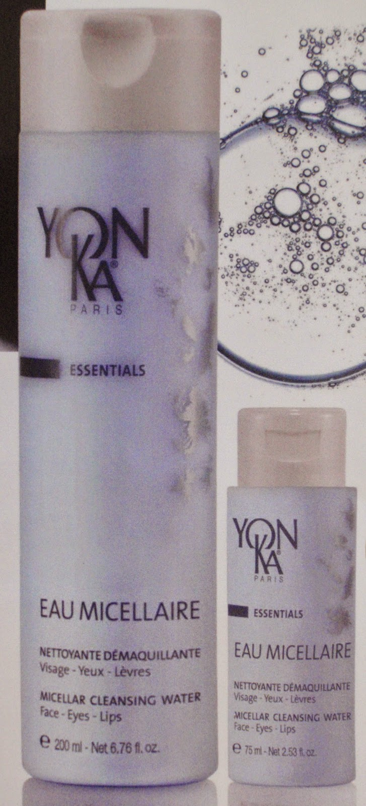 eau micellaire yonka