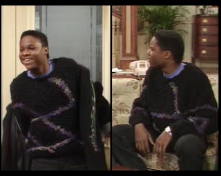 Cosby Show Huxtable fashion blog 80s sitcom Theo Malcolm Jamal Warner