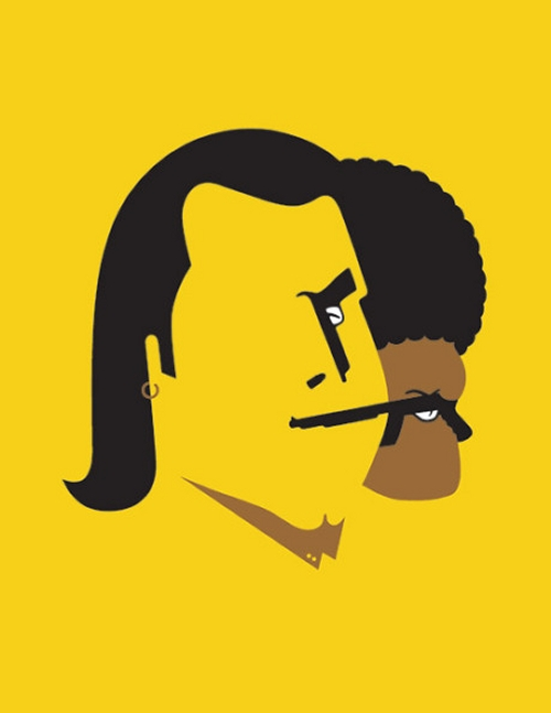 11-John-Travolta-Samuel-L-Jackson-Noma-Bar-Faces-Hidden-in-the-Symbolism-of-Illustrations-www-designstack-co