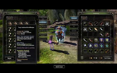 Dragon Nest - Cooking Recipes