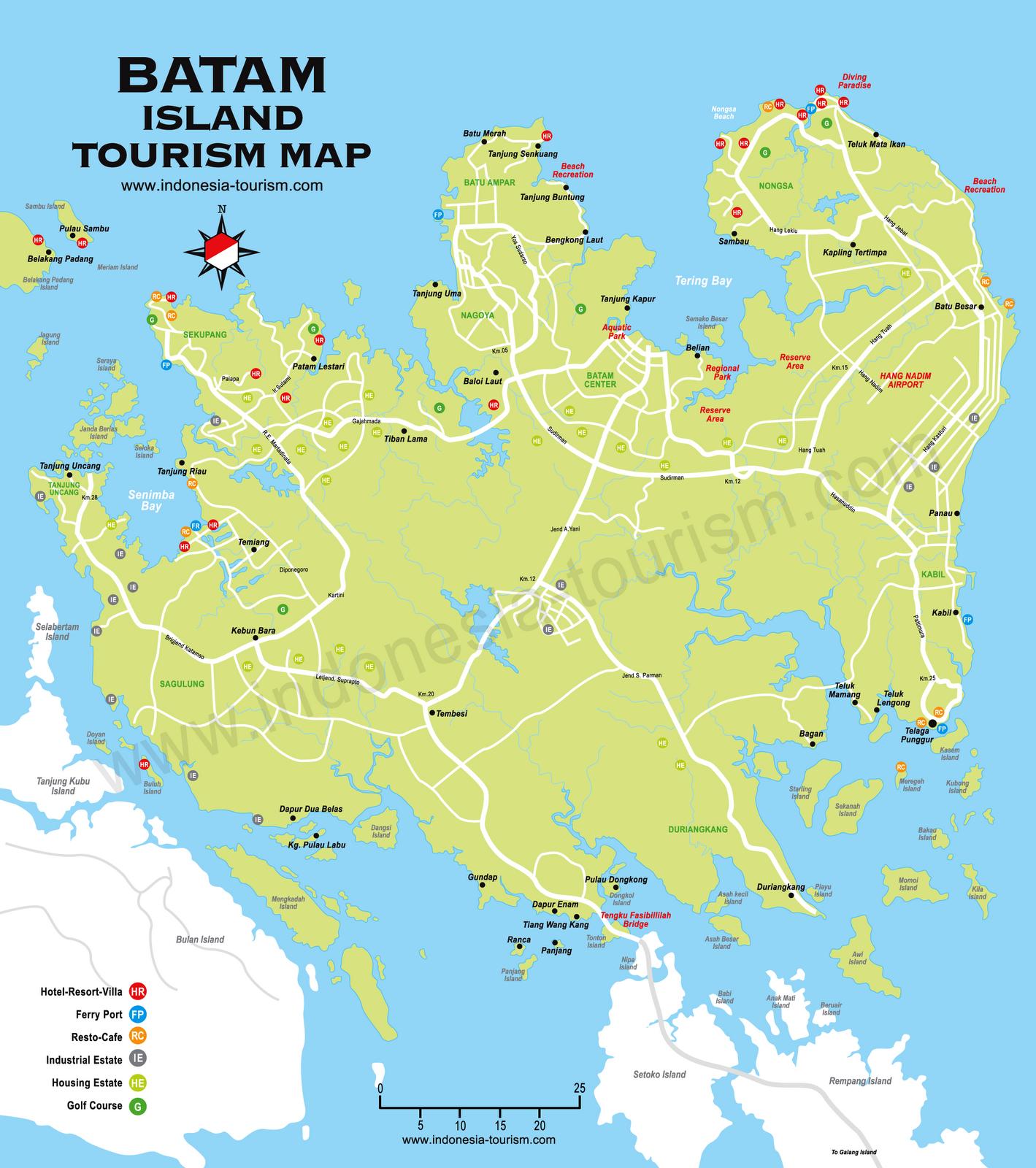 Peta Kota Batam Malioboro