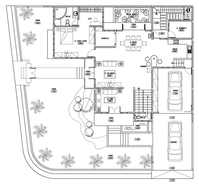 Aneka ide Desain Rumah Minimalis Type 36 Terbaru yg inspiratif