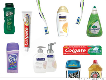 toothpaste and colgate palmolive Colgate is an umbrella brand principally used to sell oral hygiene products such  as toothpastes, toothbrushes, mouthwashes and dental floss manufactured by  the american consumer-goods conglomerate colgate-palmolive, colgate.