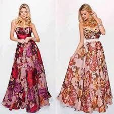 modelo de vestido longo florido para baixinhas - looks, fotos e dicas