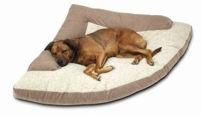 Corner Dog Bed With Bolster Xxl 44 X 64 X 44 For Sale