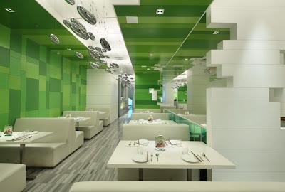 Modern restaurant Beijing